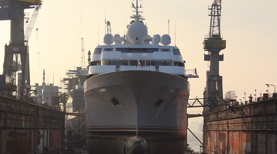 Maritime law, shipbuilding